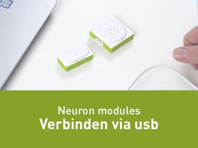 Neuron verbinden via USB