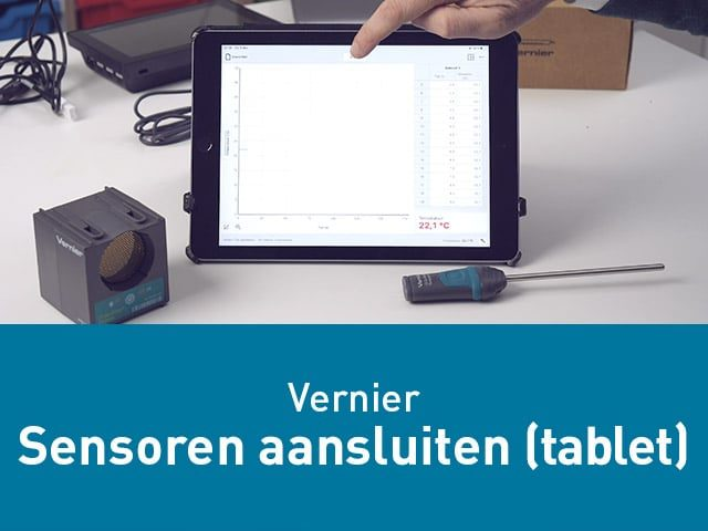 Sensoren aansluiten op je iPad of Tablet via Bluetooth