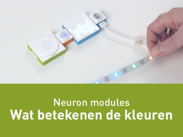 Kleuren van de Neuron modules