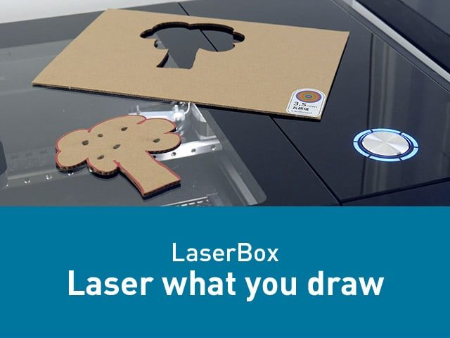 Laser what you draw