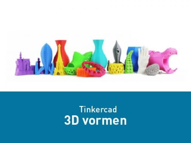 Tinkercad – 3D vormen