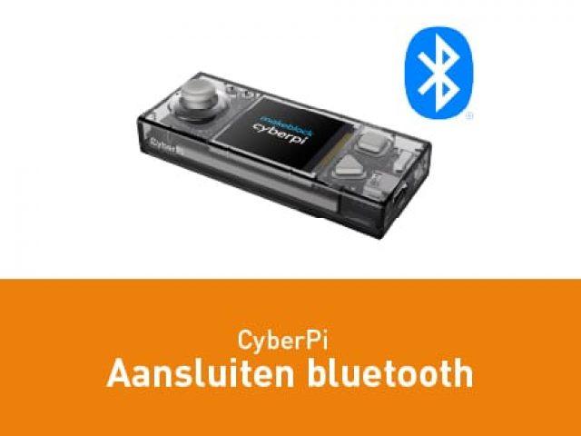 CyberPi aansluiten – Bluetooth