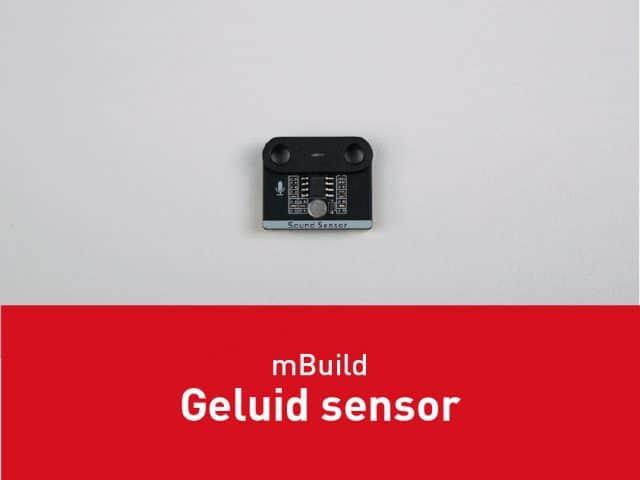 mBuild – Geluid sensor